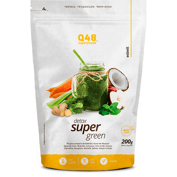 Detox Super Green Q48 SuperFoods